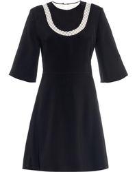 Honor Floating Bib Dress black - Lyst