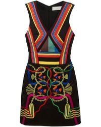 Peter Pilotto Hendrix Rainbow Dress - Lyst