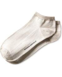 Banana Republic Striped Bootie Sock - Lyst