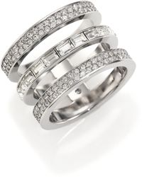 Michael Kors | Park Avenue Triple Ring | Lyst