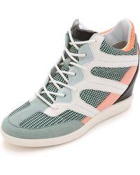 Y-3 Sukita Iii Sneakers - Vapour Blue/Light Flash Orange - Lyst