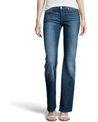 7 For All Mankind Boot-cut Five-pocket Jeans - Lyst