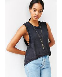 Mouchette - High/low Muscle Sweater - Lyst