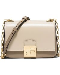 Michael Kors | Gia Small Leather Shoulder Bag | Lyst