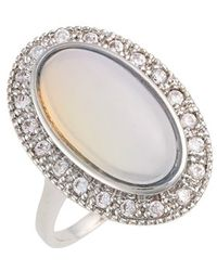 Samantha Wills - 'fields Of Gold' Ring - Moonstone/ Silver - Lyst