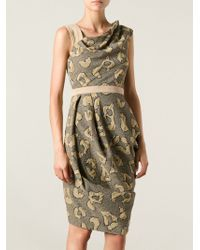 Vivienne Westwood Red Label Animal Print Dna Dress - Lyst