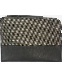 French Connection | Ryan Zipper Clutch | Lyst