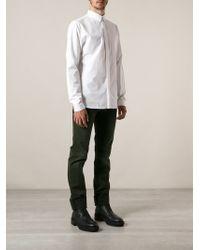 Dior Homme Pin Collar Shirt - Lyst