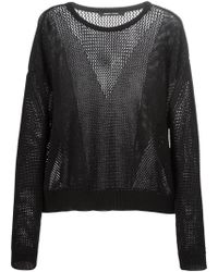 Damir Doma 'Kiessa' Sweater black - Lyst