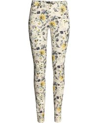 H&M Superstretch Trousers - Lyst