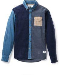 Penfield Hemsbey Colorblock Corduroy Shirt - Lyst