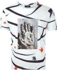 Raf Simons Hand Photo Print T-Shirt - Lyst