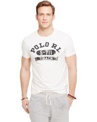 Polo Ralph Lauren Polo Track T-Shirt - Lyst