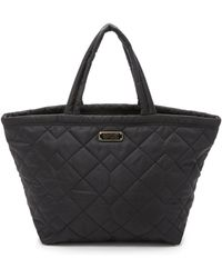 Marc By Marc Jacobs - Crosby Quilt Nylon Weekender - Black - Lyst