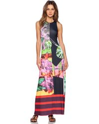 Clover Canyon Painted Garden Maxi Dress - Lyst