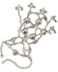 Alexander McQueen Ivy  Acorn Hand Chain - Lyst