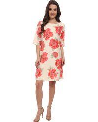 Pendleton Petite Amy Print Dress - Lyst