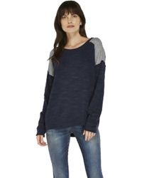 Feel The Piece By Terre Jacobs Boden Sweater blue - Lyst