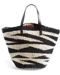 ViX 'Sisal' Woven Straw Tote - Lyst