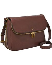 Fossil - Preston Flap Bag - Lyst