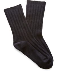 Rochas - Black Socks - Lyst