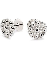 Alice Made This Kendall Silver Cufflink & Lapel Pin Set - Lyst