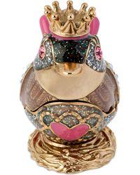 Betsey Johnson | Gold-tone Pink Bird Keepsake Box | Lyst