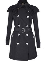 Burberry Brit Rain Resistant Coat - Lyst