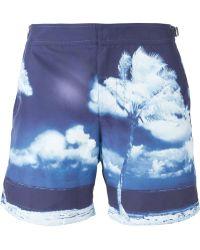 Orlebar Brown 'Bulldog' Swim Shorts - Lyst