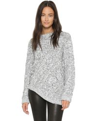 C/meo Collective All Nations Sweater - Grey Fleck gray - Lyst