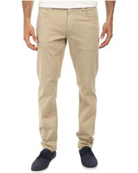 Hudson Blake Five-Pocket Slim Straight Jean In Canyon Khaki - Lyst