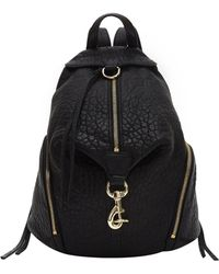 Rebecca Minkoff Julian Backpack black - Lyst