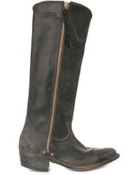 Golden Goose Deluxe Brand Knee High Cowboy Boots - Lyst