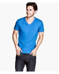 H&M Stretch Tshirt - Lyst