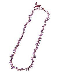 Nakamol Stone Shards Necklace-Amethyst - Lyst