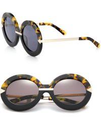 Karen Walker | Poolside Hollywood Round Sunglasses | Lyst