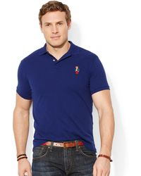 Ralph Lauren Polo Big and Tall Classic-fit Polo Bear Mesh Shirt - Lyst