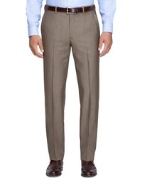 Brooks Brothers Fitzgerald Fit Mohair Trousers - Lyst