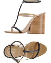 Chloé Sandals black - Lyst