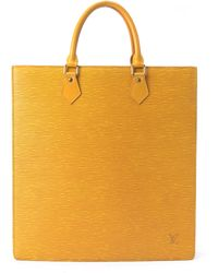 Louis Vuitton Yellow Sac Plat Tote - Lyst