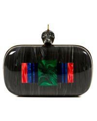 Alexander McQueen Box Clutch - Lyst