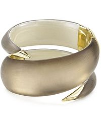 Alexis Bittar Lucite Coiled Hinge Cuff - Lyst
