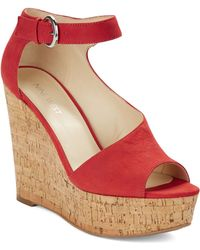 Nine West Adyssinian Wedge Sandals - Lyst