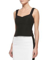 Nanette Lepore Tempter Corset Top With Sweetheart Neckline - Lyst