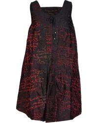 Marithé x François Girbaud Purple Short Dress - Lyst