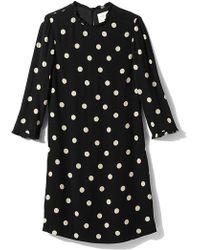 Kate Spade Black Dizzy Dress - Lyst