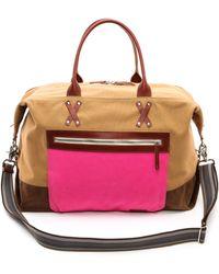 Graf & Lantz Brown Duffle Bag - Lyst