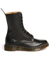 Dr. Martens Alix Matte Leather Boots - Lyst