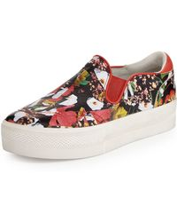 Ash Jungle Floral-print Slip-on Sneaker - Lyst