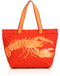 Vilebrequin - Oversized Canvas Lobster Tote - Lyst